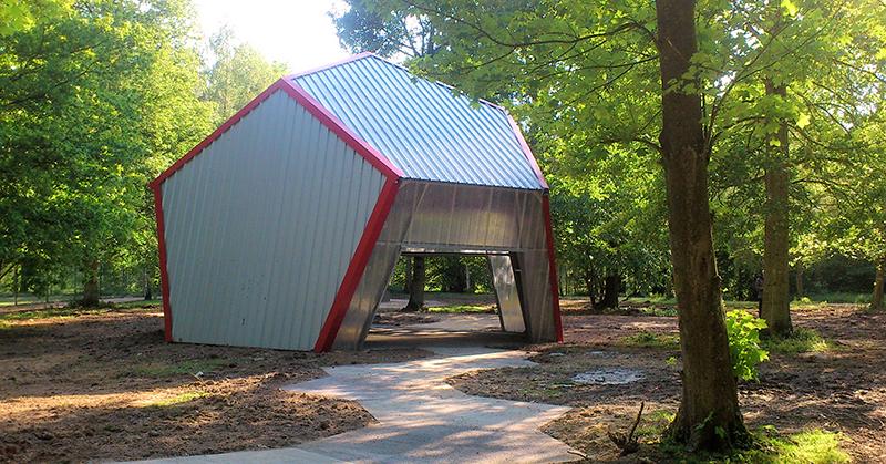 bâtiment dodécahédrique